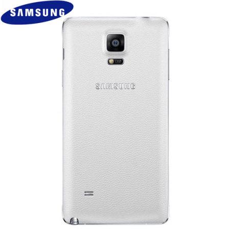 Cache Batterie Officiel Samsung Galaxy Note 4 - Blanc