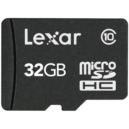Lexar 32GB Micro SDHC Memory Card - Class 10