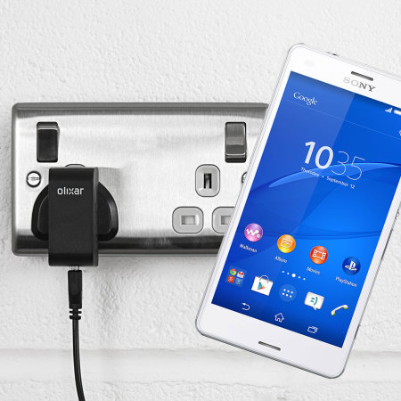 Olixar High Power Sony Xperia Z3 Compact Charger - Mains