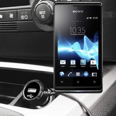 Olixar High Power Sony Xperia E3 Car Charger