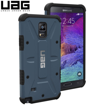 watch 73f0c 10a8f UAG Samsung Galaxy Note 4 Protective Case - Aero - Blue