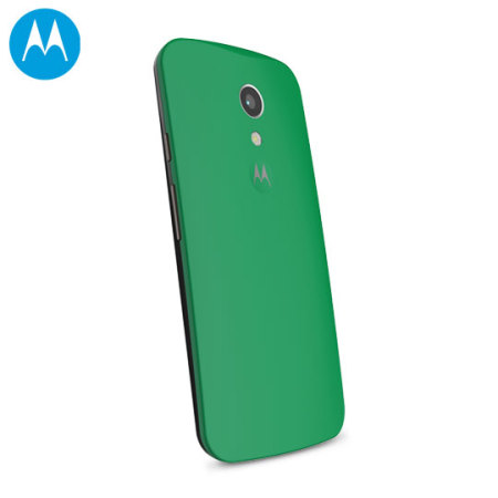 brand new 09c46 ad374 Official Motorola Moto G 2nd Gen Shell Replacement Back Cover - Green