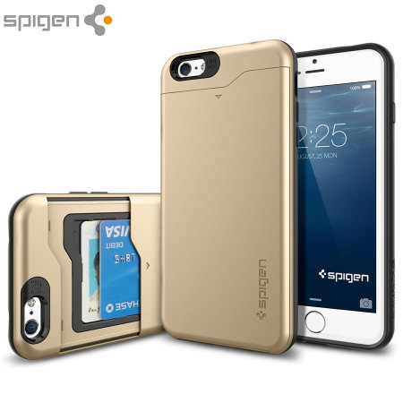 046dd04c590 Spigen Slim Armor CS iPhone 6S Plus / 6 Plus Case - Champagne Gold