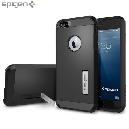 Spigen Tough Armor iPhone 6S Plus / 6 Plus Case - Smooth Black