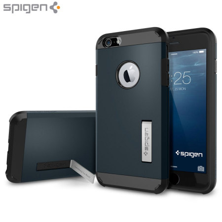 Spigen Tough Armor iPhone 6S Plus / 6 Plus Case - Metal Slate