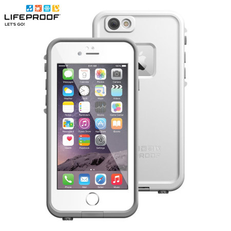 outlet store 64065 d0431 LifeProof Fre iPhone 6 Waterproof Case - White / Grey