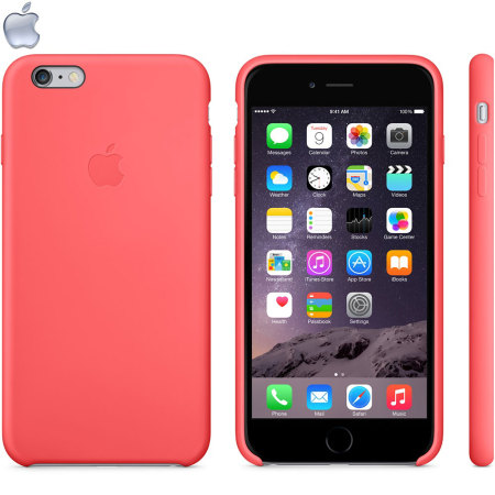 outlet store fc579 754d7 Official Apple iPhone 6 Plus Silicone Case - Pink