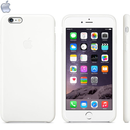 Official Apple iPhone 6S Plus / 6 Plus Silicone Case - White