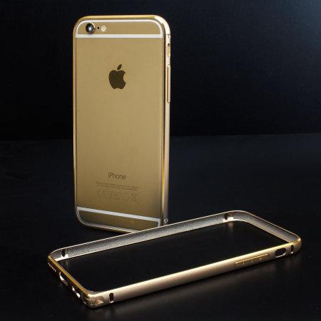 new product d0258 5dbf8 iPhone 6 Aluminium Bumper - Champagne Gold