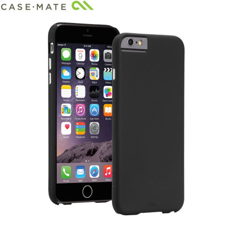 timeless design 10096 a175c Case-Mate Barely There iPhone 6S Plus / 6 Plus Case - Black