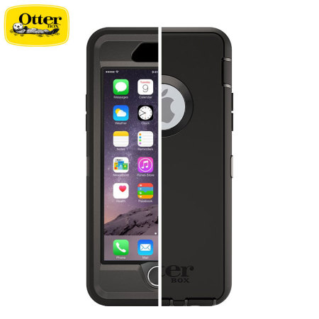 OtterBox Defender Series iPhone 6S Plus   6 Plus Case - Black 5665033c6830
