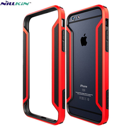 new style 92dfd b1032 Nillkin Armor Border iPhone 6S / 6 Bumper Case - Red