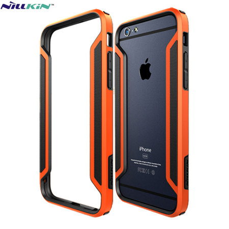 low priced 0f8df d26a9 Nillkin Armor Border iPhone 6S / 6 Bumper Case - Orange