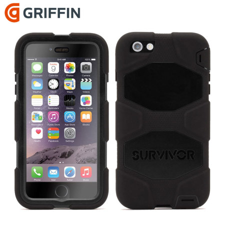 Coque iPhone 6 Plus   6S Plus Griffin Survivor - Noire 5768c67cfd7e