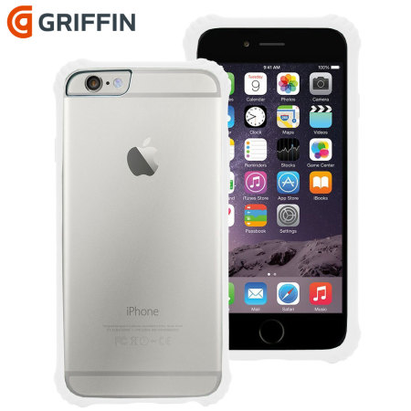 Griffin Survivor Core iPhone 6S Plus   6 Plus Case - White   Clear da4e3c1749a6