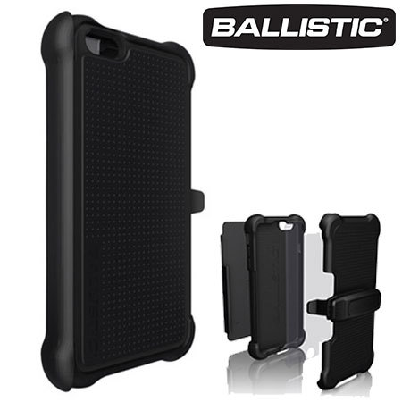 competitive price 9c2ac 1c8fd Ballistic Tough Jacket Maxx iPhone 6S Plus / 6 Plus Case - Black
