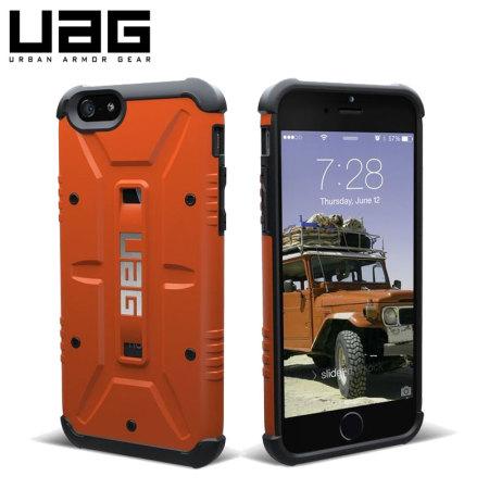 super popular 439cd 7a4dd UAG Outland iPhone 6S / 6 Protective Case - Orange