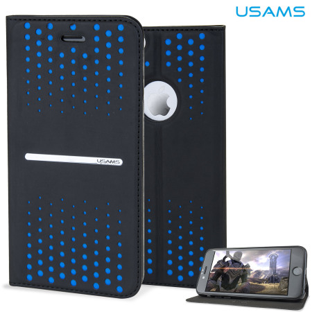 blue spot on iphone screen usams series iphone 6s 6 leather style stand blue 9723