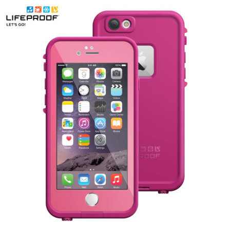 iphone 6 lifeproof case lifeproof fre iphone 6 waterproof power pink 14994