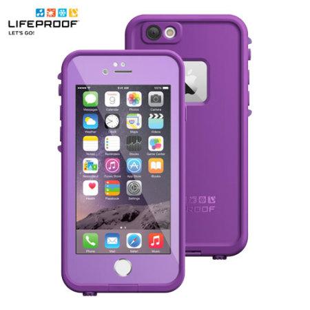 buy popular a33ca b1975 LifeProof Fre iPhone 6 Waterproof Case - Pumped Purple