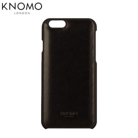 finest selection b4528 56e18 Knomo Snap On iPhone 6S / 6 Leather Case - Black