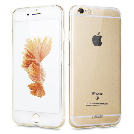 olixar ultra-thin iphone 6 gel case - 100% clear reviews