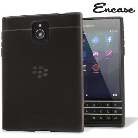coque blackberry passport flexishield encase noire fum e avis. Black Bedroom Furniture Sets. Home Design Ideas