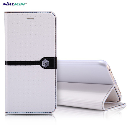 Nillkin Ice iPhone 6S / 6 Leather-Style Stand Case - White