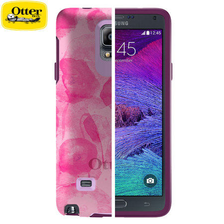 competitive price 5cb66 02bf6 OtterBox Symmetry Samsung Galaxy Note 4 Case - Poppy Petal