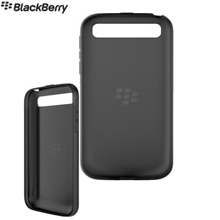 Official BlackBerry Classic Soft Shell Case - Black Translucent