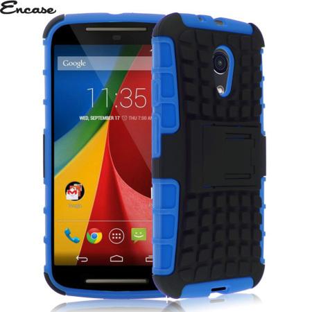 Encase ArmourDillo Moto G 2nd Gen Protective Case - Blue