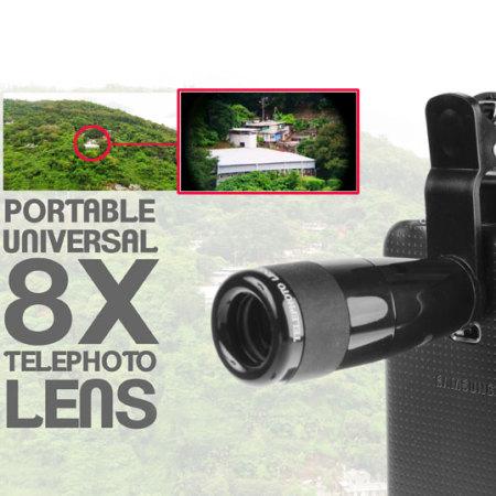 Samsung Galaxy Note 4 Long Range Telescope Photo Lens Attachment