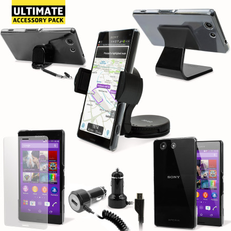 The Ultimate Sony Xperia Z3 Compact Accessory Pack