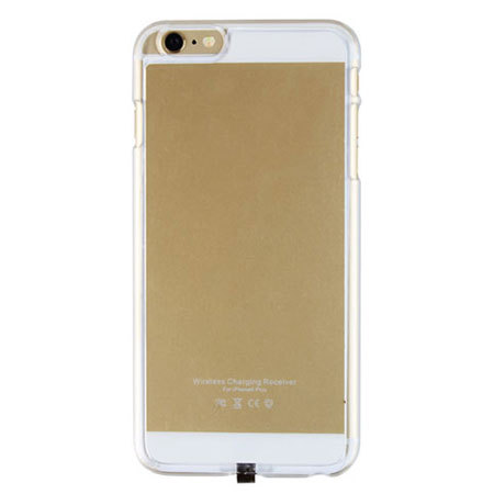 qi charging iphone 6s 6 lade h lle in gold. Black Bedroom Furniture Sets. Home Design Ideas