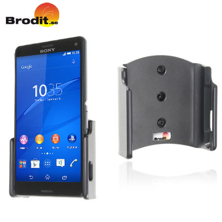 Brodit Passive Sony Xperia Z3 Compact In Car Holder with Tilt Swivel