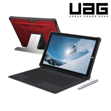 low priced 81011 6d64f UAG Scout Microsoft Surface Pro 3 Folio Case - Red
