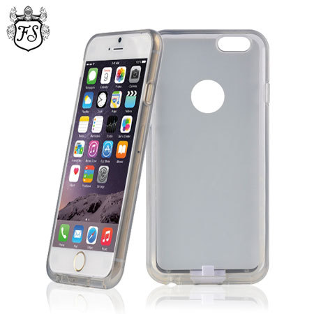 flexishield qi iphone 6s 6 wireless charging case white. Black Bedroom Furniture Sets. Home Design Ideas