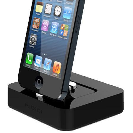 cover mate ladestation f r iphone 6s 6 lightning ger te in schwarz. Black Bedroom Furniture Sets. Home Design Ideas
