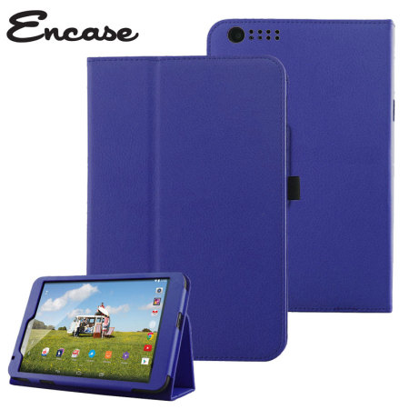cheaper ac50a a6a90 Encase Stand and Type Tesco Hudl 2 Case - Blue