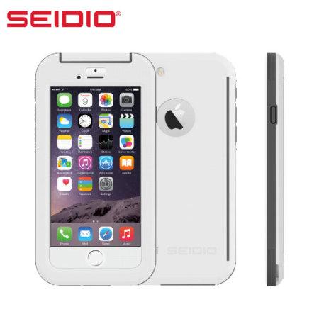 best sneakers 9d8d1 ac9fe Seidio OBEX iPhone 6 Waterproof Case - White / Grey