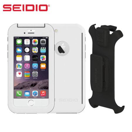 premium selection eeb98 91718 Seidio OBEX Combo iPhone 6S / 6 Waterproof Case - White / Grey