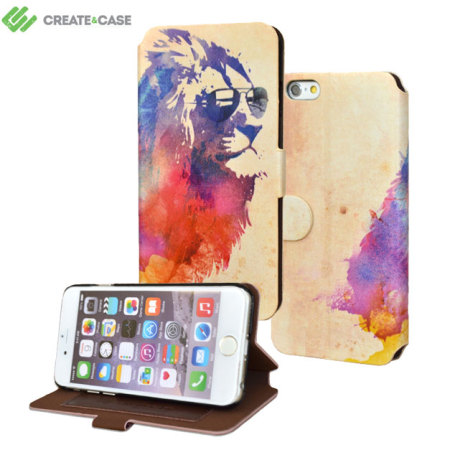 Create and Case iPhone 6S / 6 Book Case - Sunny Leo