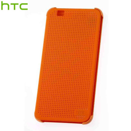 new product 5bf5b 33594 HTC Desire Eye Dot View Case - Orange Popsicle