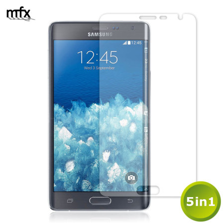 MFX Samsung Galaxy Note Edge Screen Protector 5-in-1 Pack