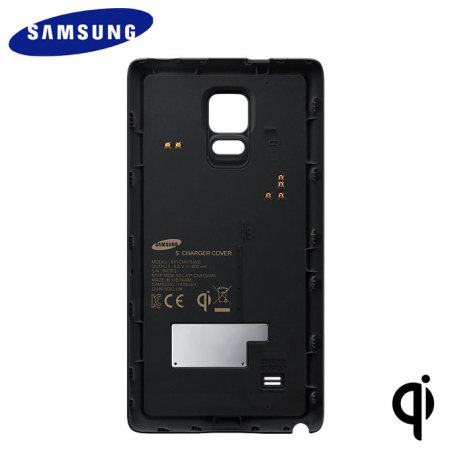 Official Samsung Galaxy Note Edge Qi Wireless Charging Cover - Black