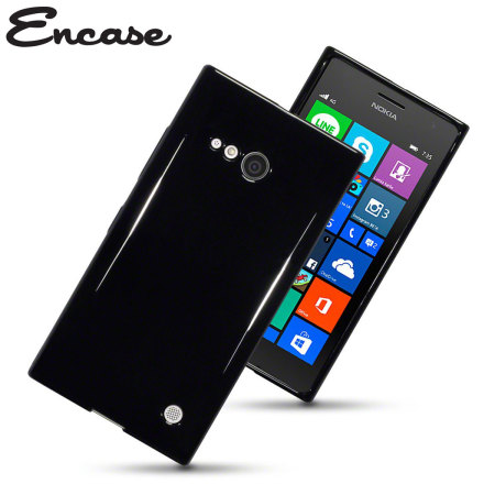 Encase FlexiShield Nokia Lumia 735 Gel Case - Black