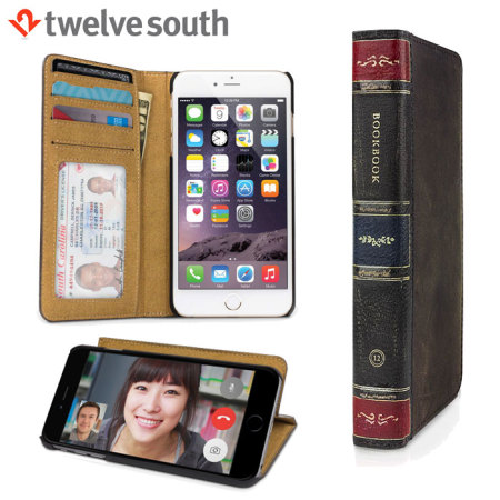 watch b35b6 9919e Twelve South BookBook iPhone 6S / 6 Leather Wallet Case - Brown