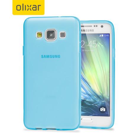 cc18b867a0b Olixar FlexiShield Samsung Galaxy A3 2015 Case - Light Blue