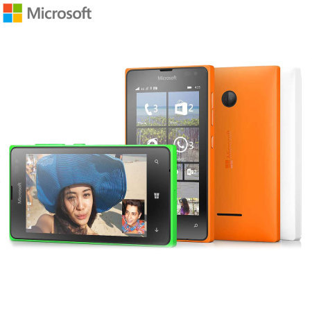 Official Microsoft CC-3096 Lumia 435 Shell Case - Bright Green