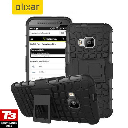 ArmourDillo HTC One M9 Protective Case - Black